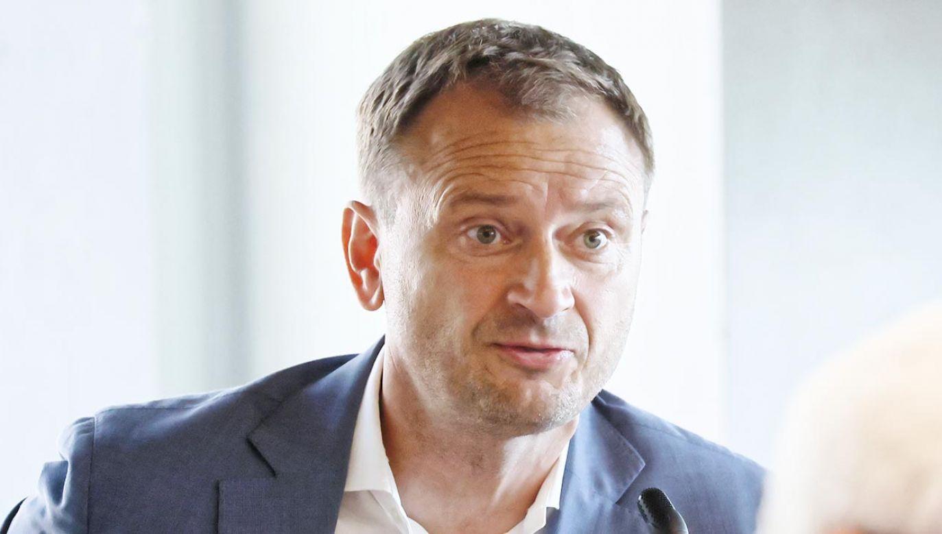Sławomir Nitras nie zamierza odchodzić z polityki (fot. PAP/Leszek Szymański)