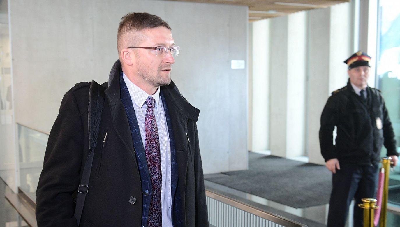 Z wizyty w Kancelarii Sejmu sędzia sporządził notatkę służbową (fot. PAP/Marcin Obara)