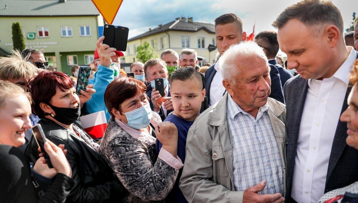 Prezydent Andrzej Duda (fot. Jakub Szymczuk/KPRP)