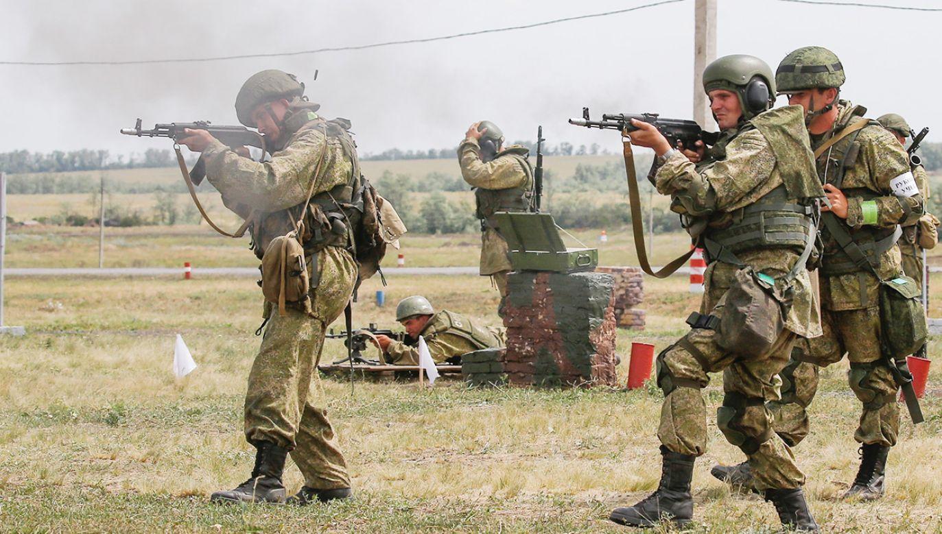"""""""Cena zapobieżenia wojnie będzie niższa niż koszt jej skutków"""" (fot. Valery Matytsin\TASS via Getty Images)"""