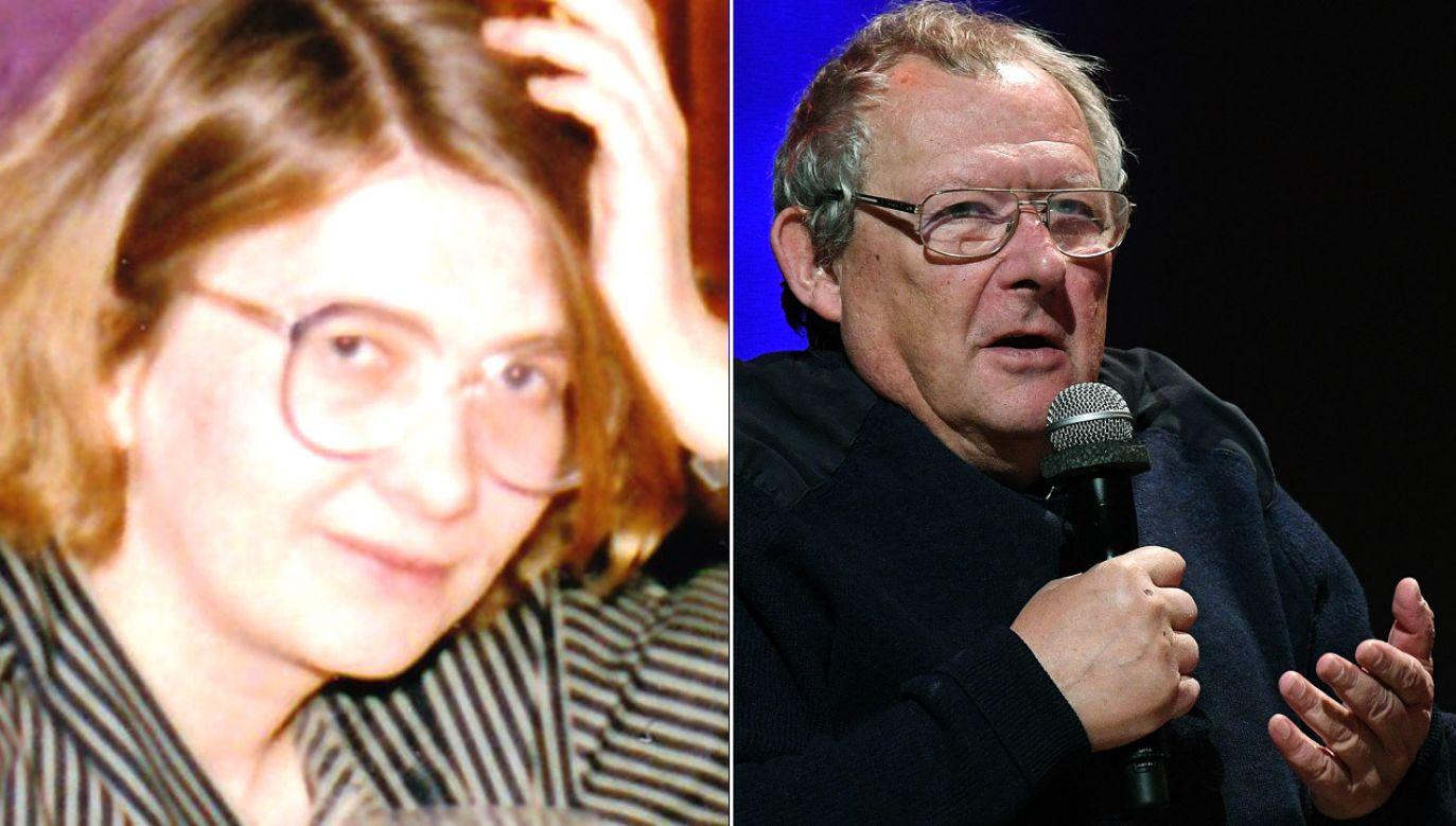 Dr hab. Alina Cała i Adam Michnik (fot. Happa/Wikipedia/arch.PAP/Radek Pietruszka)