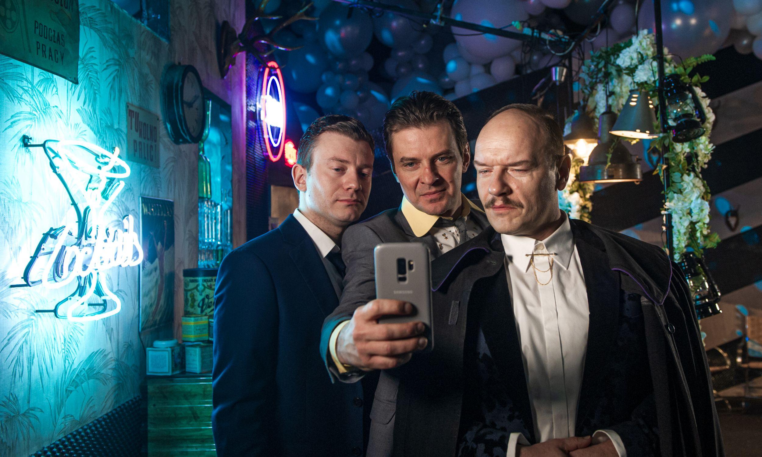 Marcin Kwaśny, Krzysztof Szczepaniak i Redbad Klynstra-Komarnicki. Fot. TVP/Natasza Młudzik