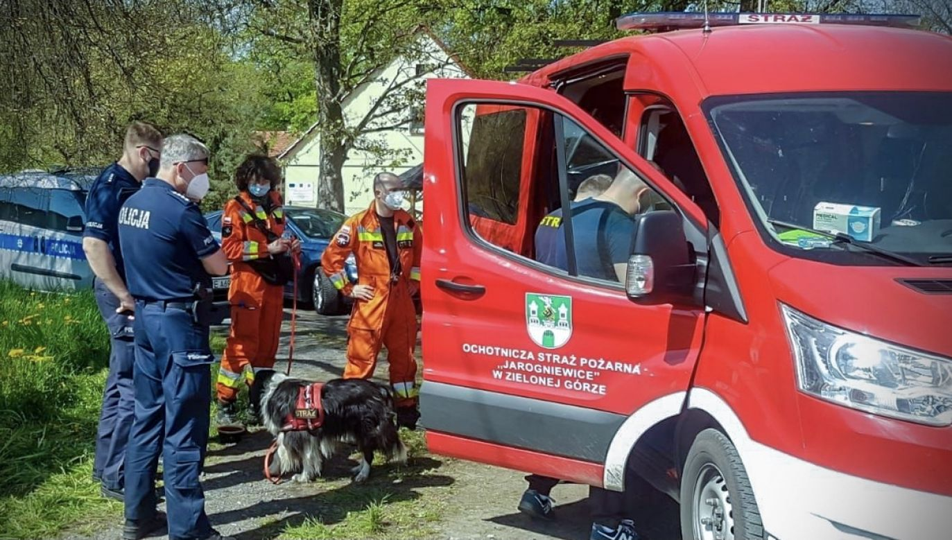 Trwają poszukiwania chłopców z udziałem wielu ludzi i specjalistycznego sprzętu (fot. Policja lubuska)