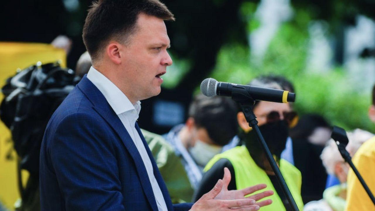 Lider ruchu Polska 2050 Szymon Hołownia (fot. Omar Marques/Getty Images)