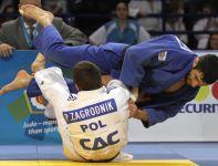 Paweł Zagrodnik przegrał finał z reprezentantem Armenii Armenem Nazarjanem - kat. 66kg (fot.PAP)