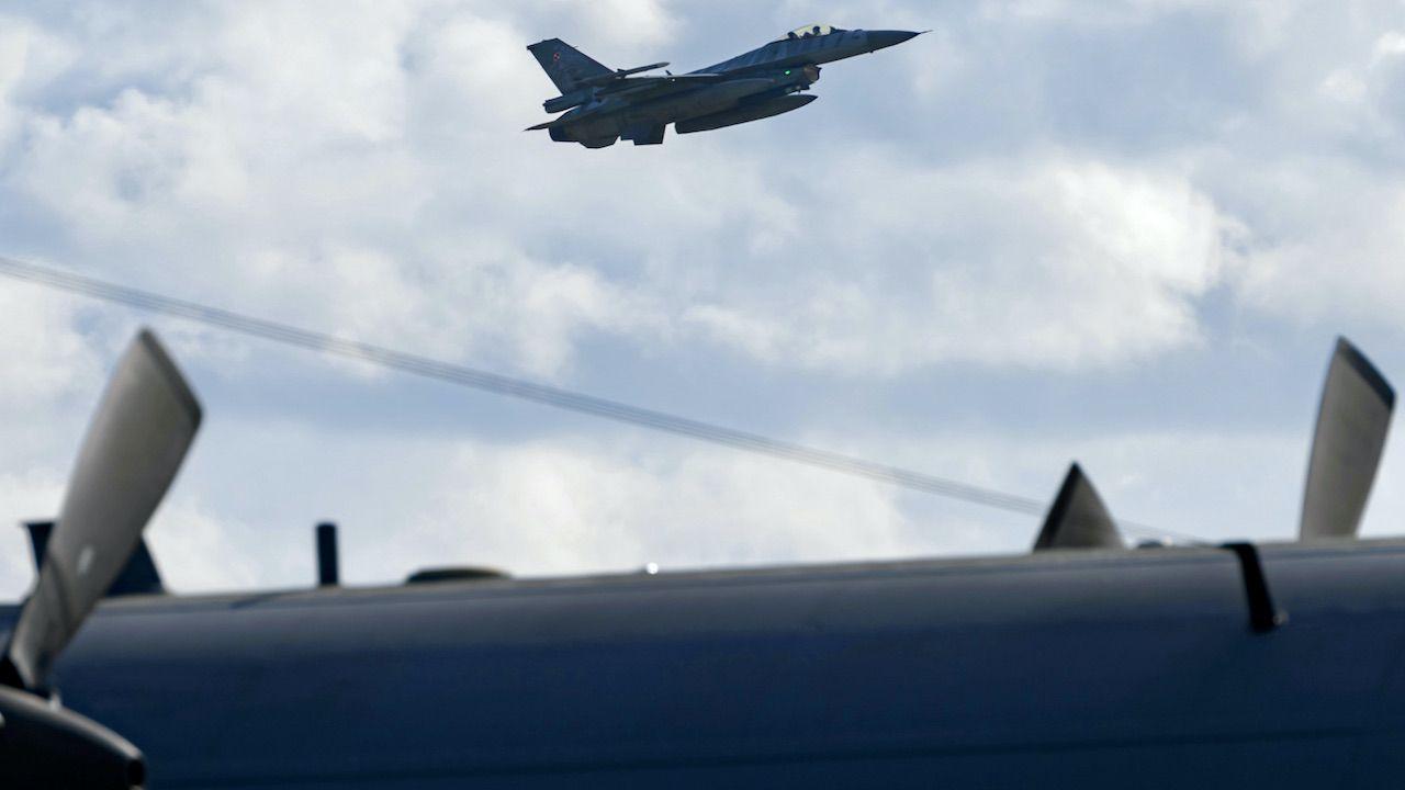 MON: w poniedziałek nie wykonywano lotów przy granicy z Białorusią (fot. arch.PAP/J.Kaczmarczyk, zdjęcie ilustracyjne)