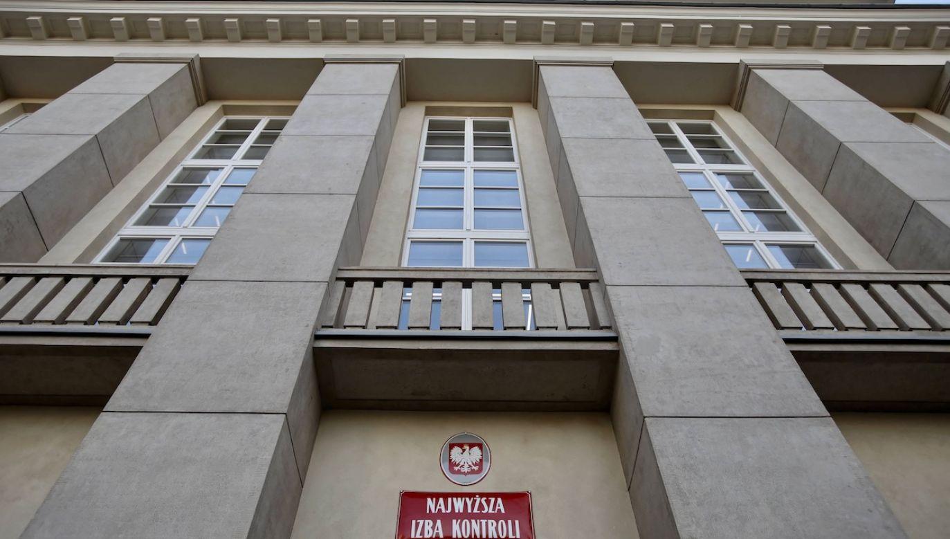 Zawiadomienie złożył prezes NIK (fot. arch.PAP/Leszek Szymański)