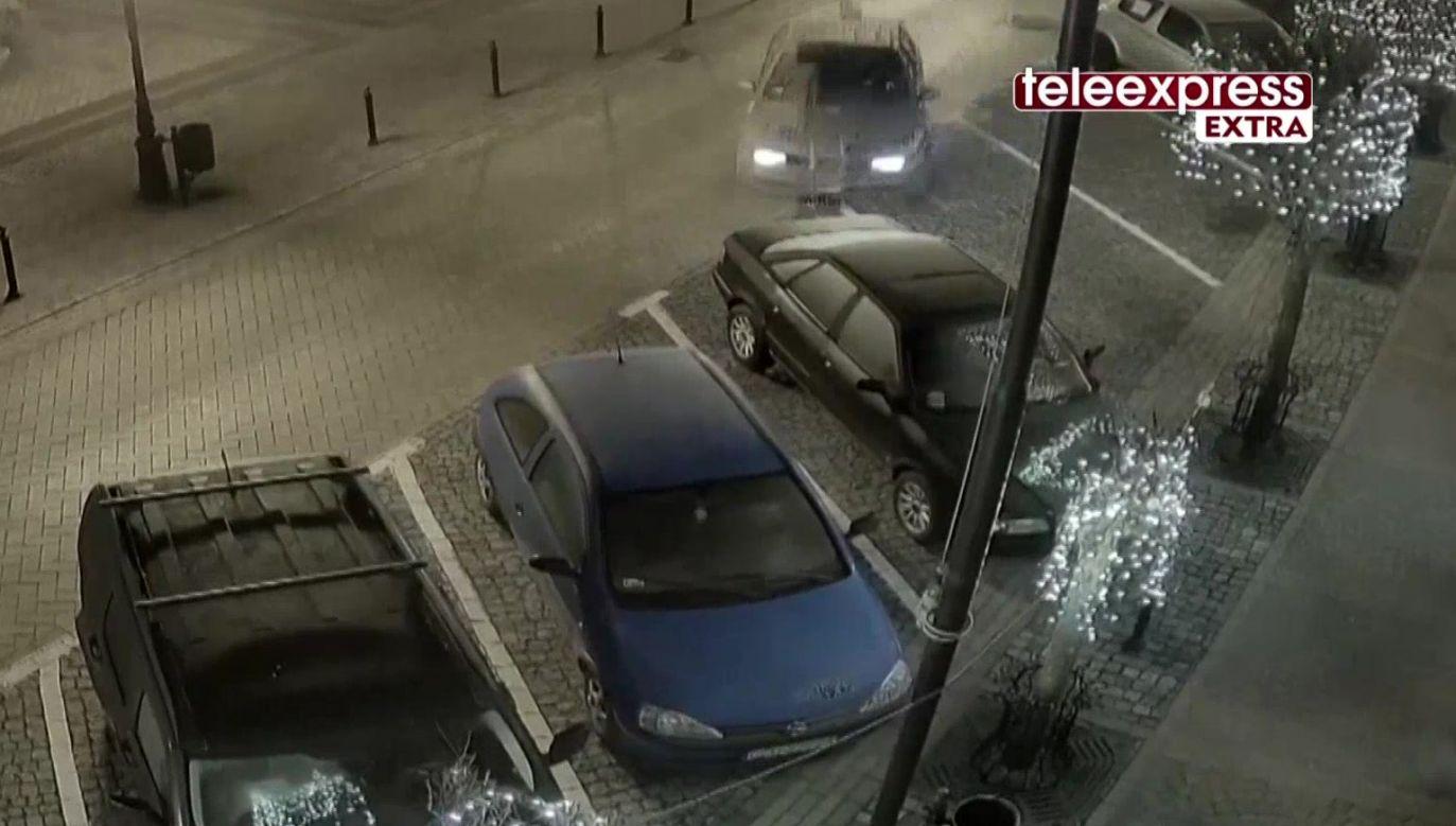 Koniec szaleńczej jazdy (fot. TVP Info)