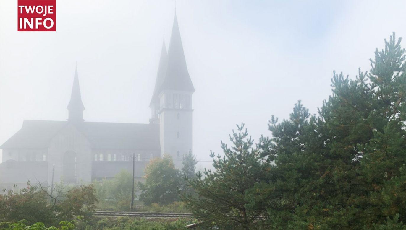 Mgła w Krzeszowicach (fot. Twoje Info)