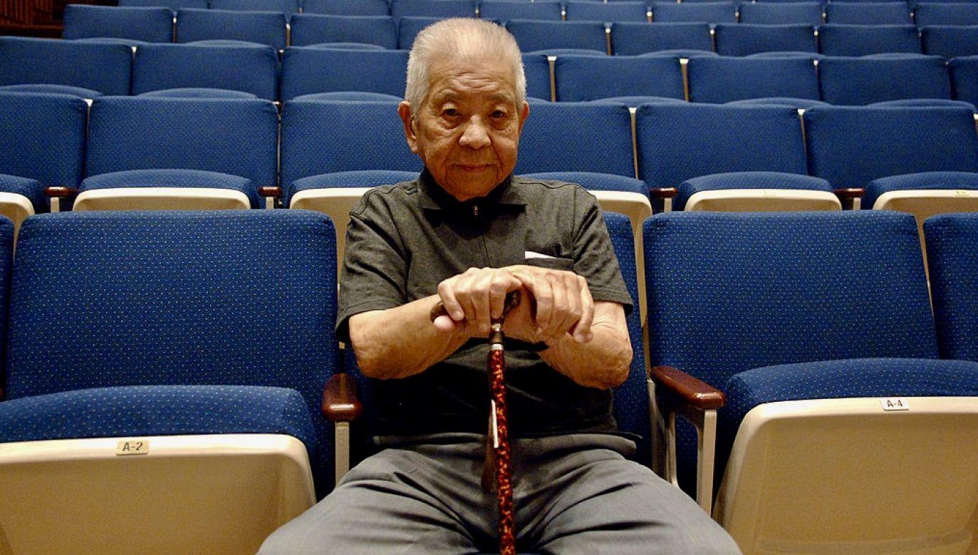 Tsutomu Yamaguchi żył 93 lata (fot. Jemal Countess/WireImage)