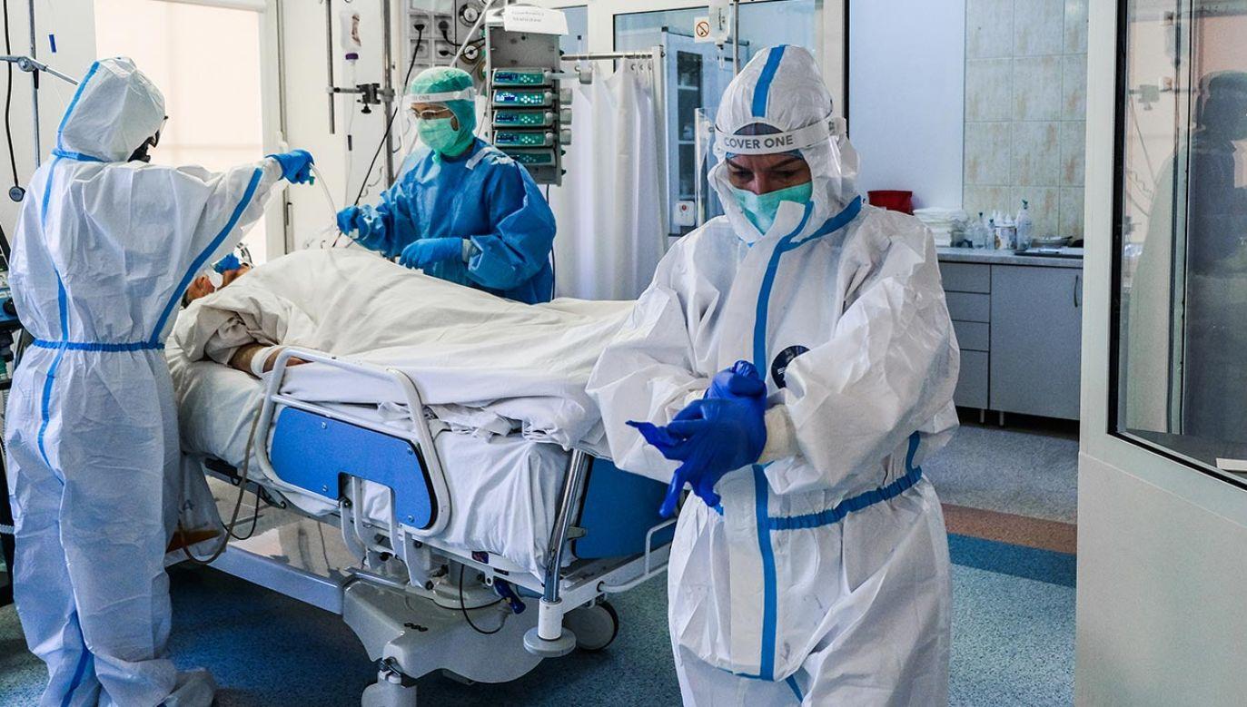 Resort przygotowuje przede wszystkim sieć szpitali (fot. Omar Marques/Anadolu Agency via Getty Images)