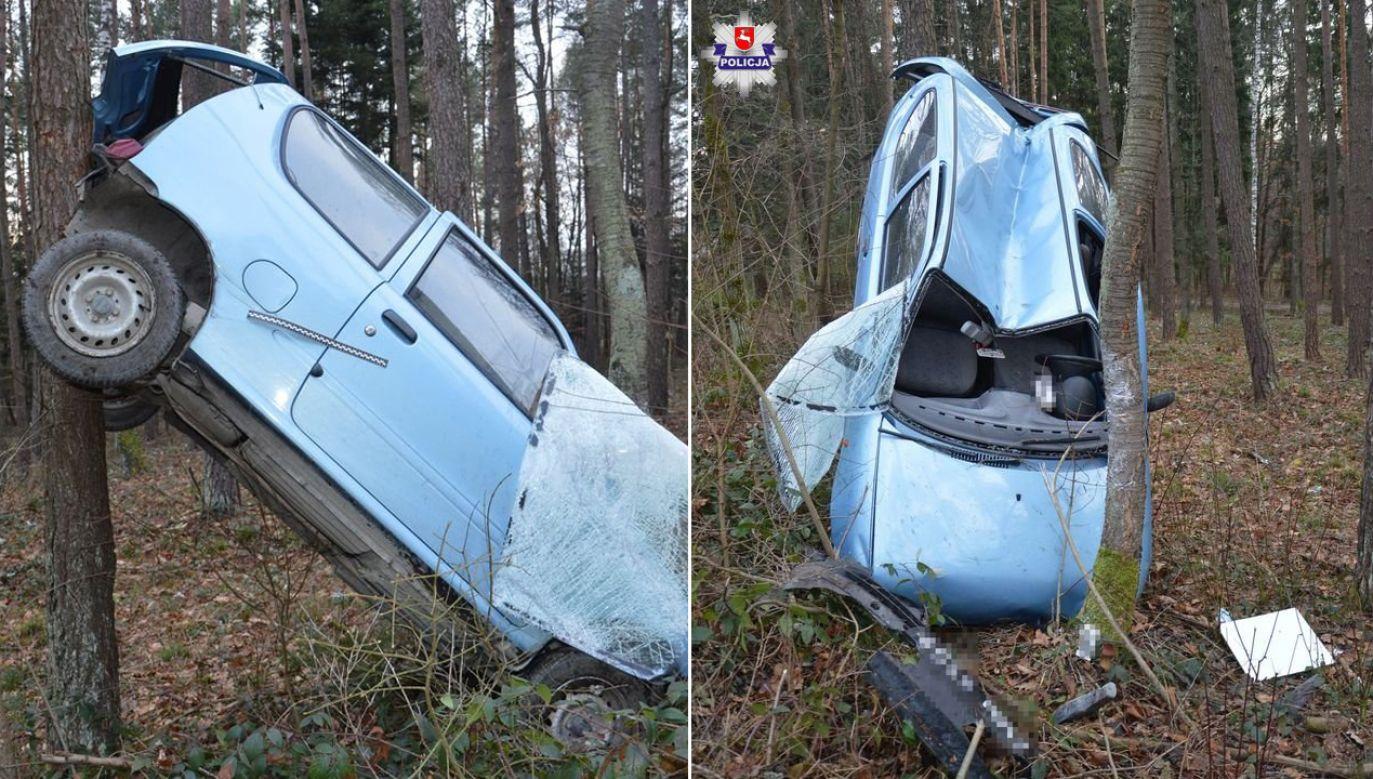 Pojazdem kierowała 86-latka (fot. lubelska.policja.gov.pl)