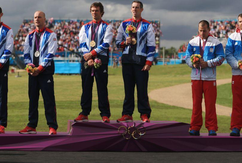 Podium w C2: złoto i srebro dla Brytyjczyków, brąz dla Słowaków (fot. Getty Images)