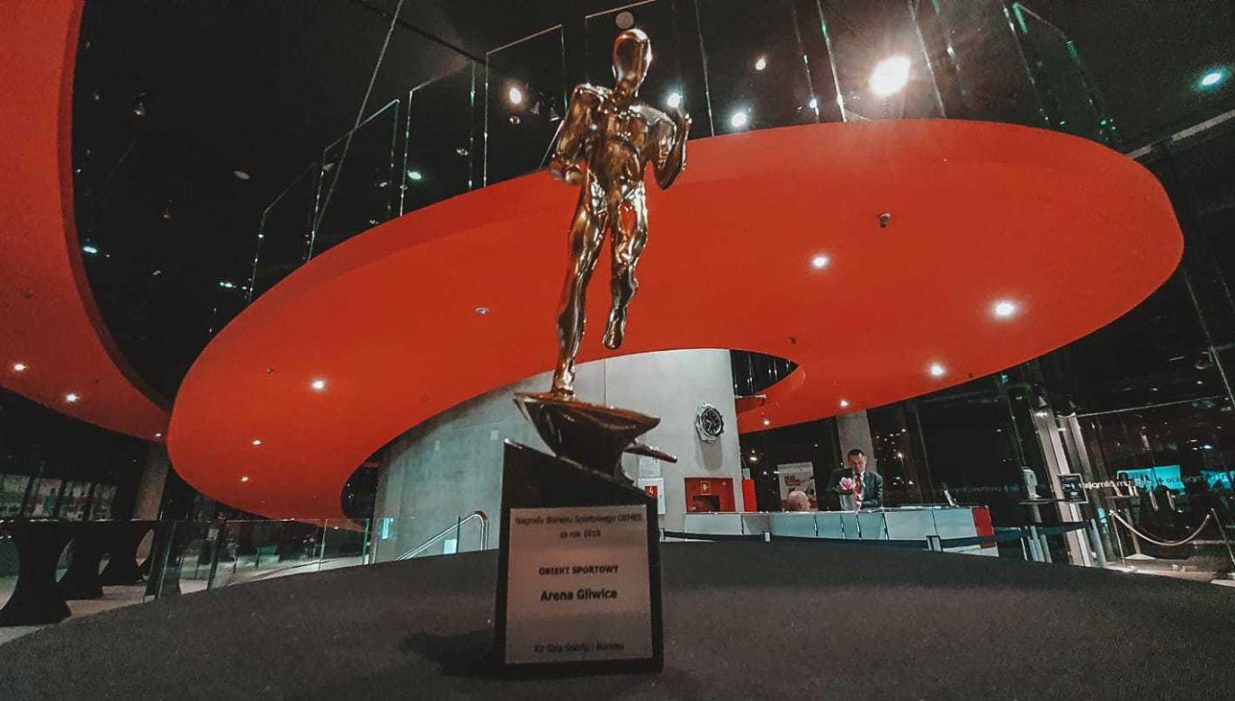 Laury zostały wręczone na szesnastej Gali Sportu i Biznesu, która zwieńczyła dwudniowe Forum SPORTBIZ (fot. mat. pras)