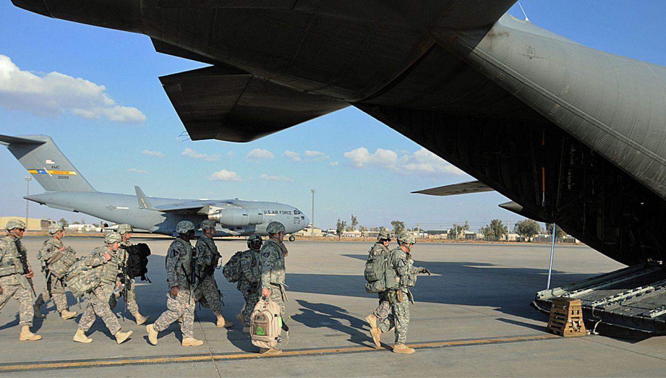 Amerykańska 1. Dywizja Kawalerii Pancernej służy obecnie w Iraku (fot. Wiki/Sgt. Quentin Johnson)