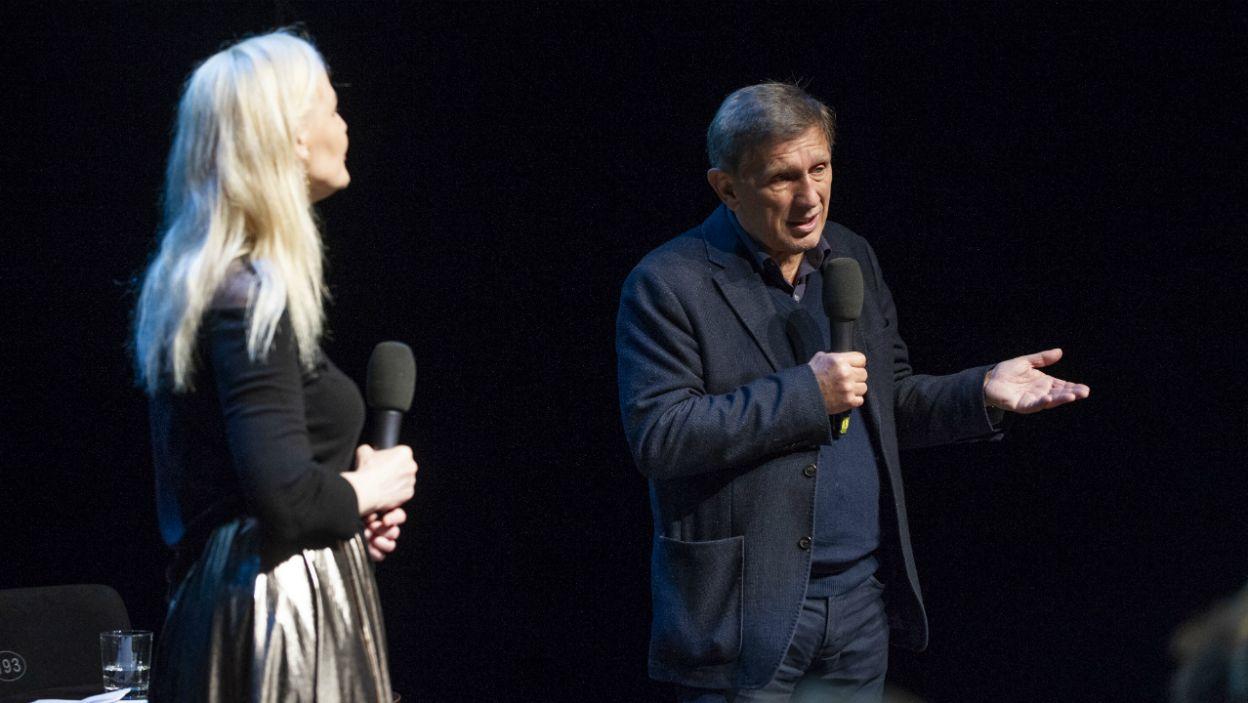 W trzecim dniu festiwalu odbyło się spotkanie z Janem Englertem (fot. Natasza Młudzik/TVP)