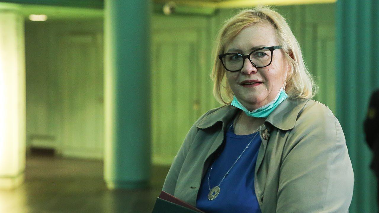 Małgorzata Manowska jest I prezes Sądu Najwyższego (fot. Forum/Andrzej Hulimka)