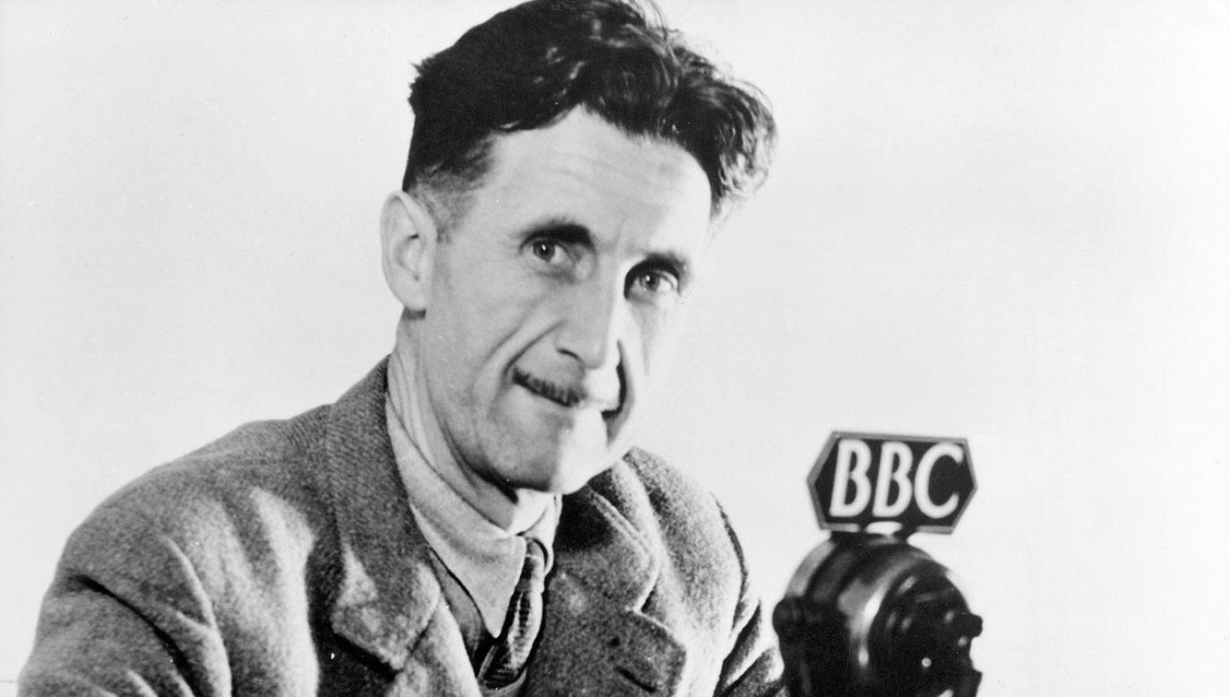 "George Orwell napisał także m.in. ""Rok 1984"" (fot. ullstein bild via Getty Images)"
