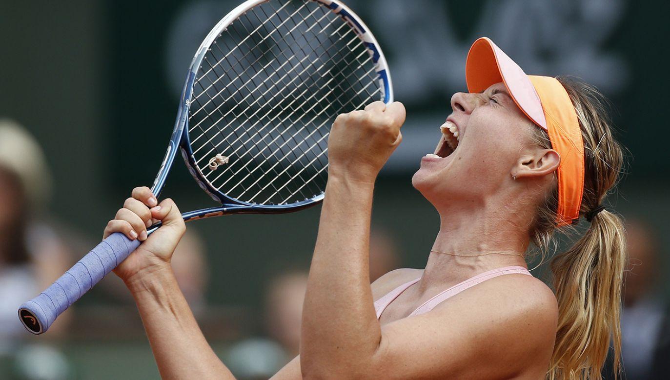 W 2016 r. rosyjska tenisistka została zdyskwalifikowana na dwa lata za doping (fot. PAP/EPA/YOAN VALAT)