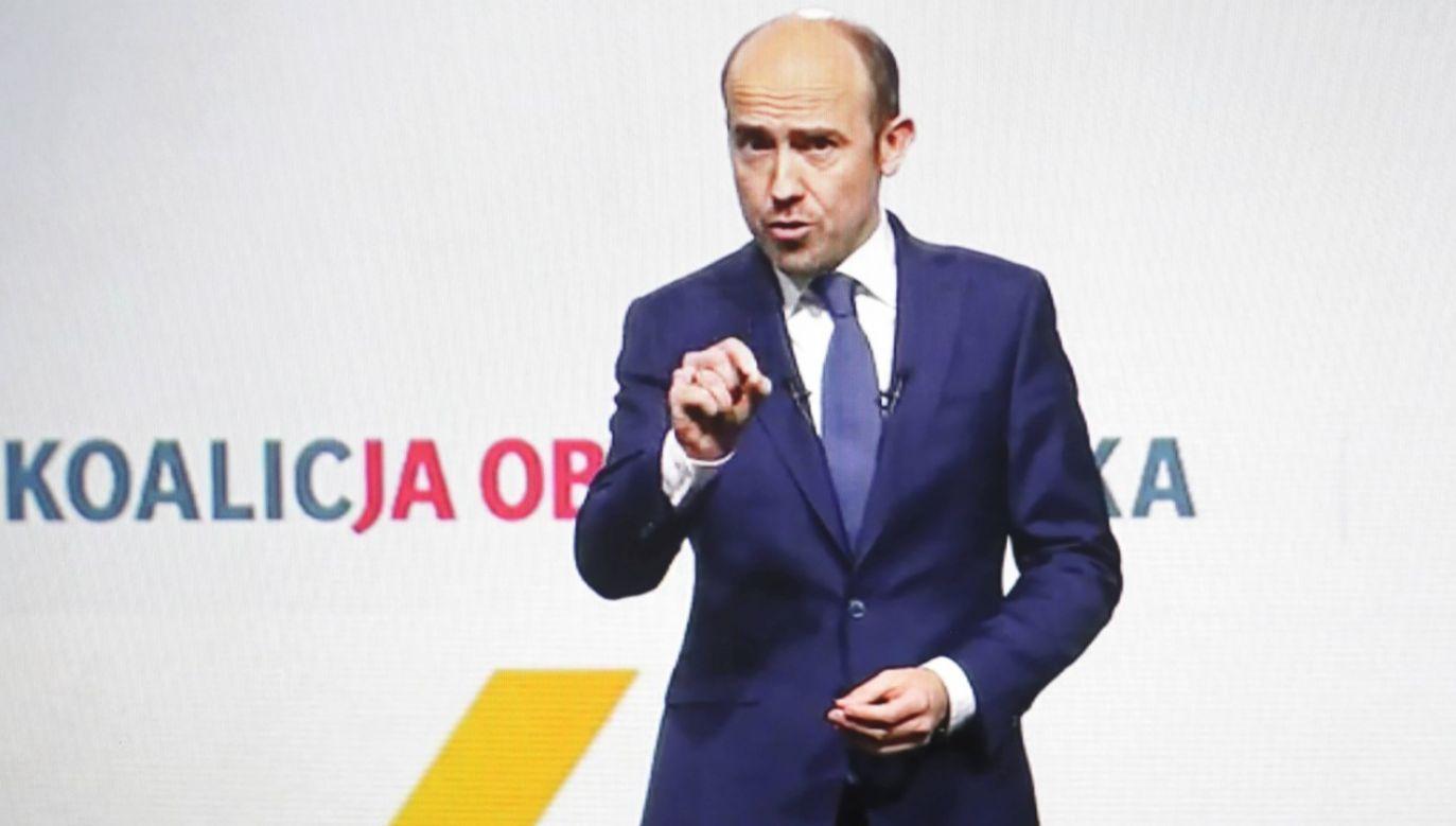 Przewodniczący Platformy Obywatelskiej Borys Budka (fot. arch. PAP/Leszek Szymański)