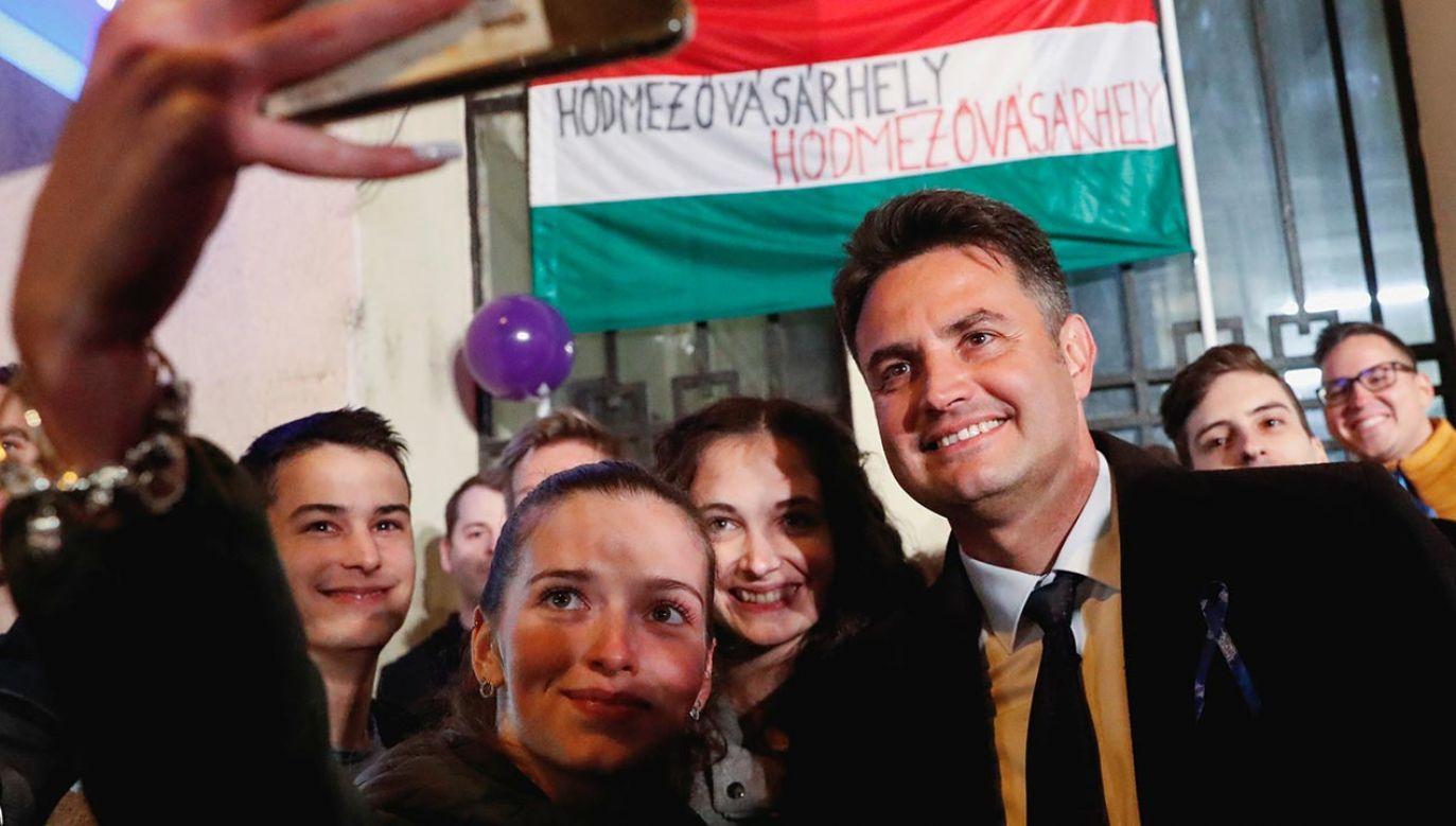 Peter Marki-Zay (fot. Forum/Reuters/BERNADETT SZABO)