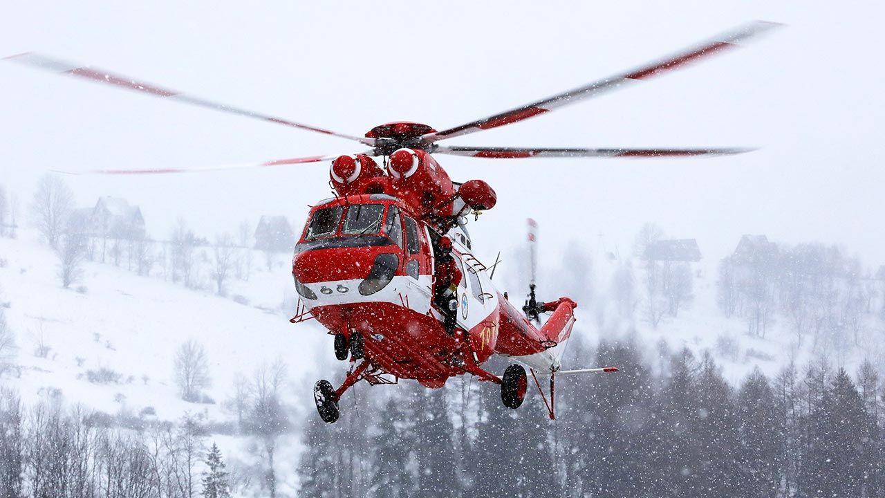 W Tatrach panują trudne, typowo zimowe warunki (fot. PAP/Grzegorz Momot)