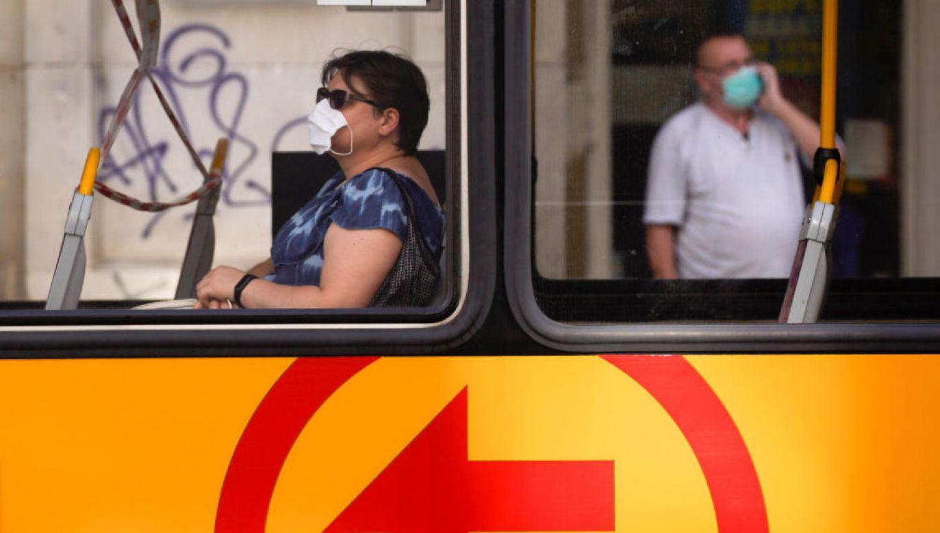 Spada liczba notowanych dziennie zakażeń w województwie mazowieckim (fot. Jaap Arriens/NurPhoto via Getty Images)