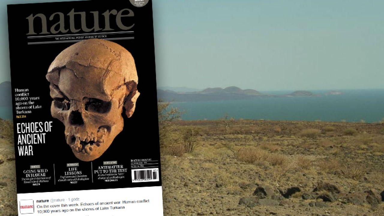 Odkrycia dokonano nad słonym jeziorem Turkana, zwanym jeziorem Rudolfa (fot. Wikimedia Commons/ AdamPG/twitter.com/nature)