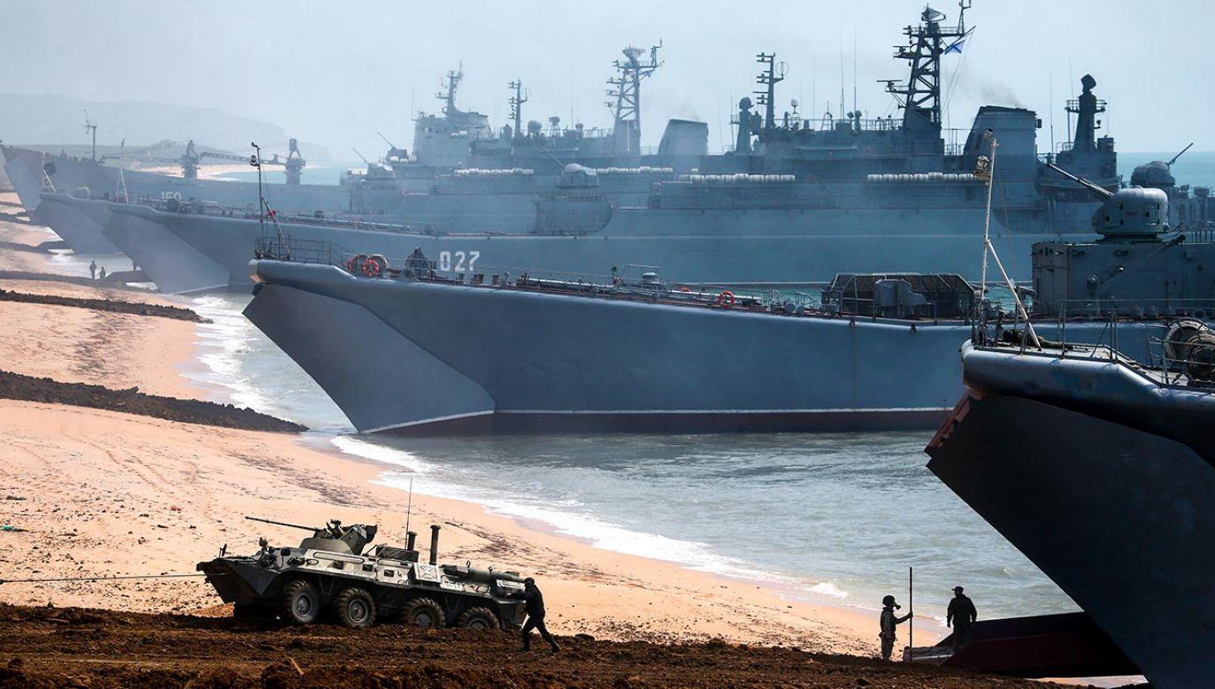 Zmilitaryzowany Krym stanowi dla Rosji klucz do kontroli Morza Czarnego (fot. Sergei Malgavko\TASS via Getty Images, zdjęcie ilustracyjne)