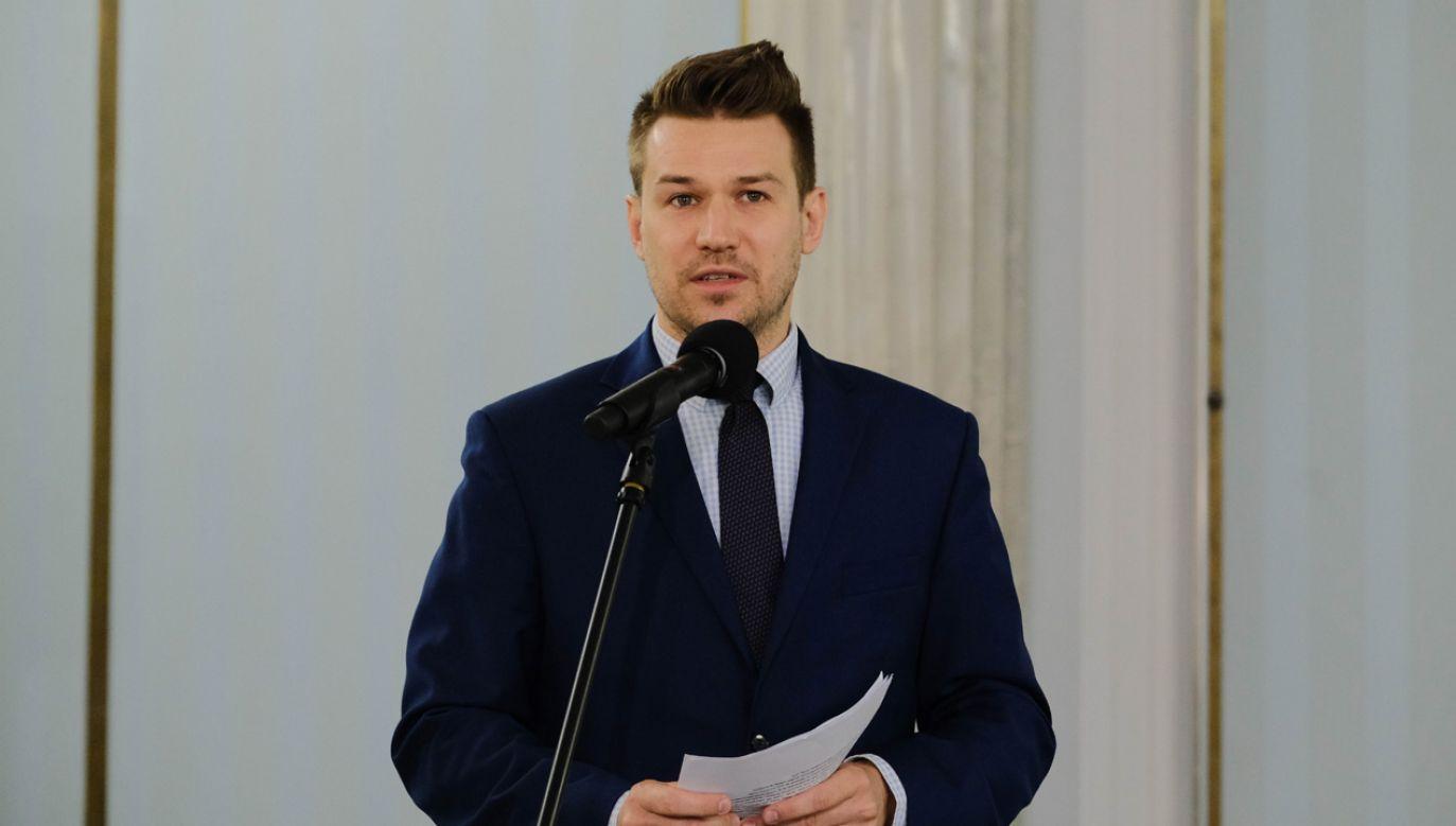 Dyrektor Centrum Informacji Sejmu Andrzej Grzegrzółka (fot. arch.PAP/Mateusz Marek)