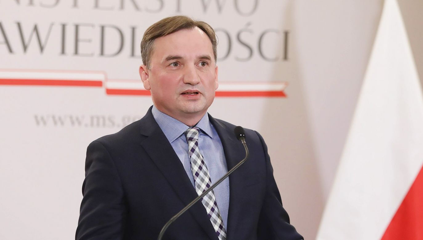 szef MS, Prokurator Generalny Zbigniew Ziobro (fot. PAP/Leszek Szymański)