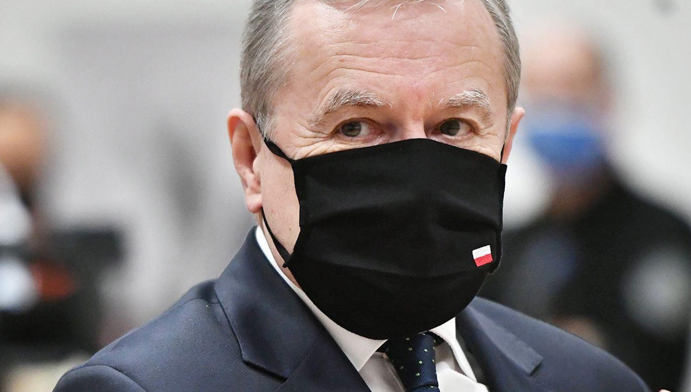 Minister kultury Piotr Gliński (fot.  PAP/Andrzej Lange)