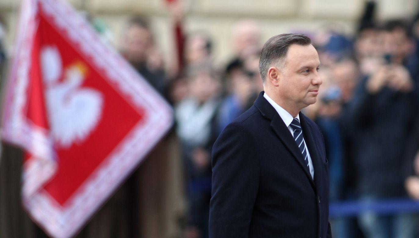 W I turze na Andrzeja Dudę zagłosowałoby 47 proc. wyborców (fot. PAP/Łukasz Gągulski)