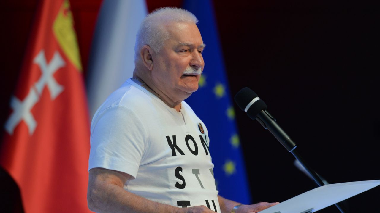 Lech Wałęsa przegrał proces (fot. Artur Widak/NurPhoto via Getty Images)