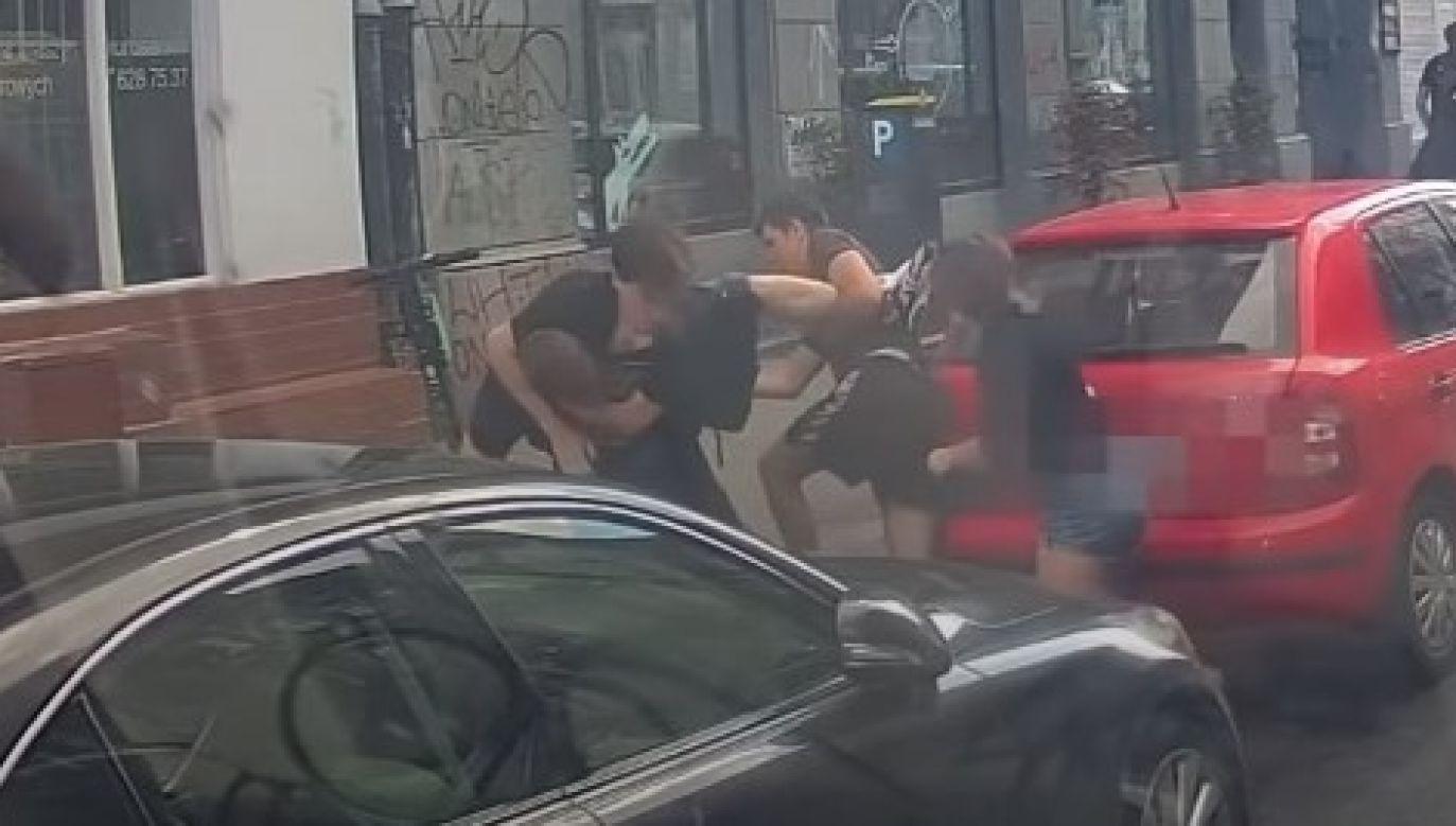 Michał Sz. został aresztowany w związku z podejrzeniem o niszczenie mienia i napaść na działacza pro-life (fot. yt/Fundacja Pro Tv)