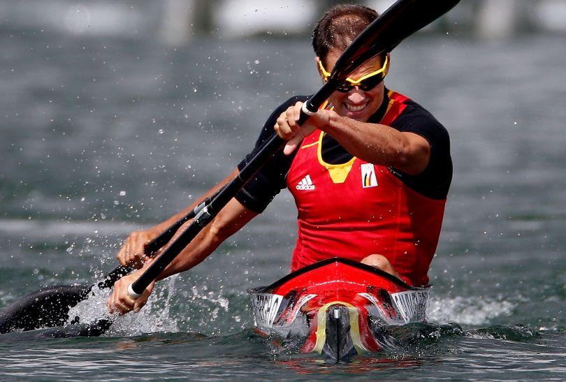 Belgowie zakwalifikowali się do finału konkurencji K2 na 1000 metrów (fot. Getty Images)