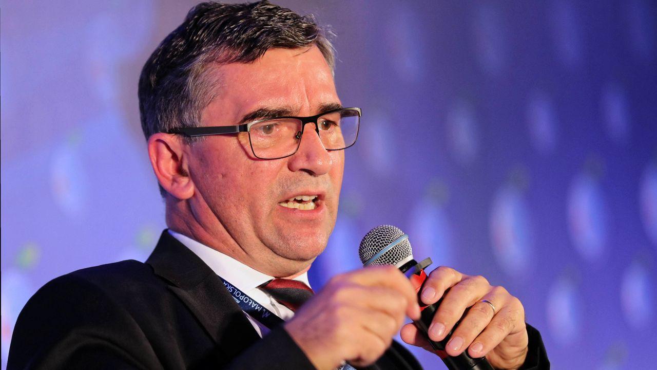 Polska musi rywalizować z Niemcami i Rosją w budowaniu własnego przekazu – uważa prof. Przyłębski (fot. PAP/Grzegorz Momot)