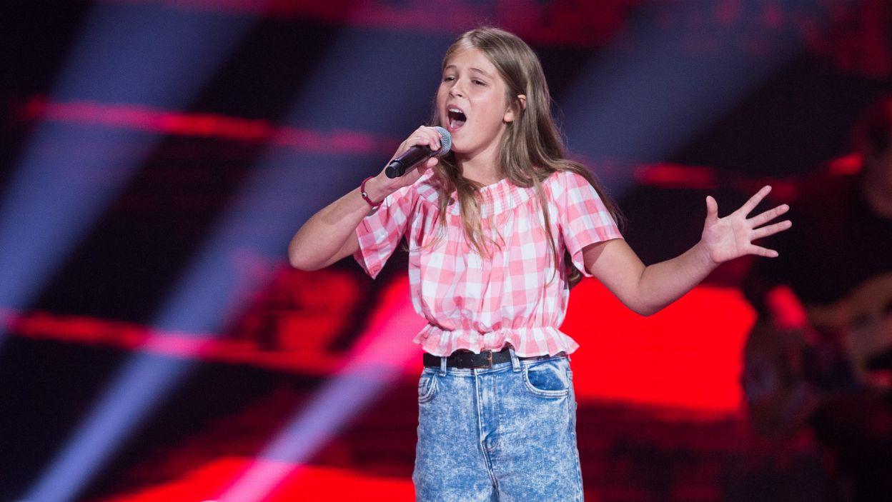 Zaraz potem na scenie pojawiła się wielbicielka koni – Eliza (fot. TVP)