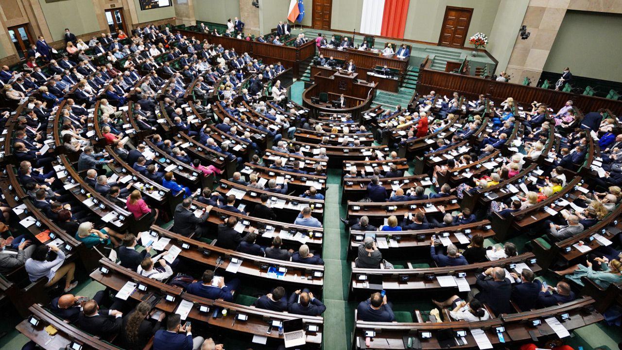 Za nowelizacją zagłosowało 309 posłów (fot.TT/Sejm RP)