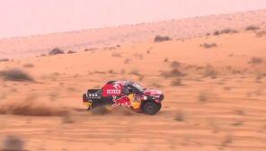 Obecna edycja Rajdu Dakar toczyła sięw Arabii Saudyjskiej (fot. TVP Info)