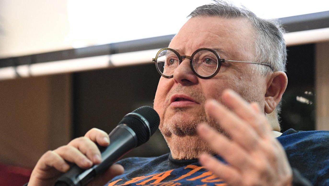 Wojciech Mann (fot. PAP/Radek Pietruszka)
