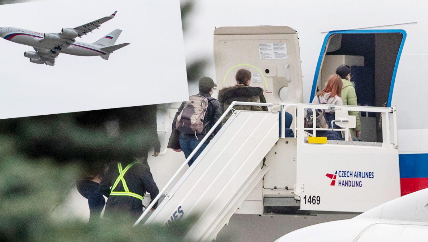 Maszyna odleciała na lotnisko Wnukowo w Moskwie (fot. PAP/EPA)