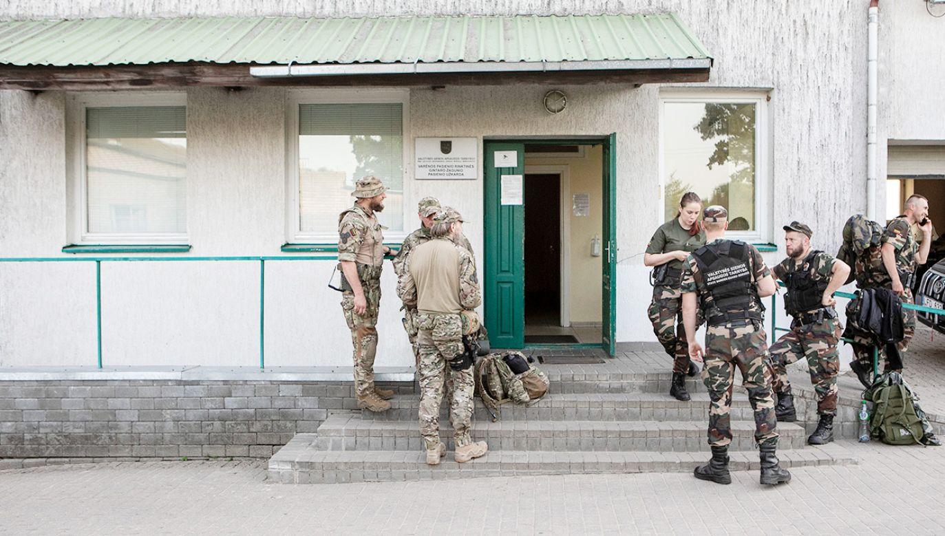 Litwa zmaga się z kryzysem migracyjnym (fot. Gettyimages)