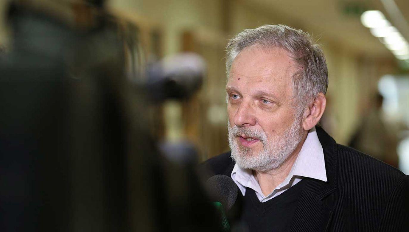 Przewodniczący Rady Zdrowia Psychicznego przy Ministrze Zdrowia prof. Jacek Wciórka (fot. arch. PAP/Rafał Guz)