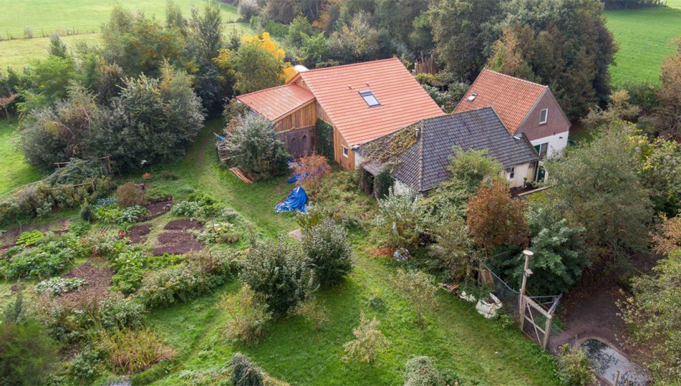 Rodzina najprawdopodobniej mieszkała w piwnicy i żywiła się uprawianymi warzywami (fot. PAP/EPA/Wilbert Bijzitter)