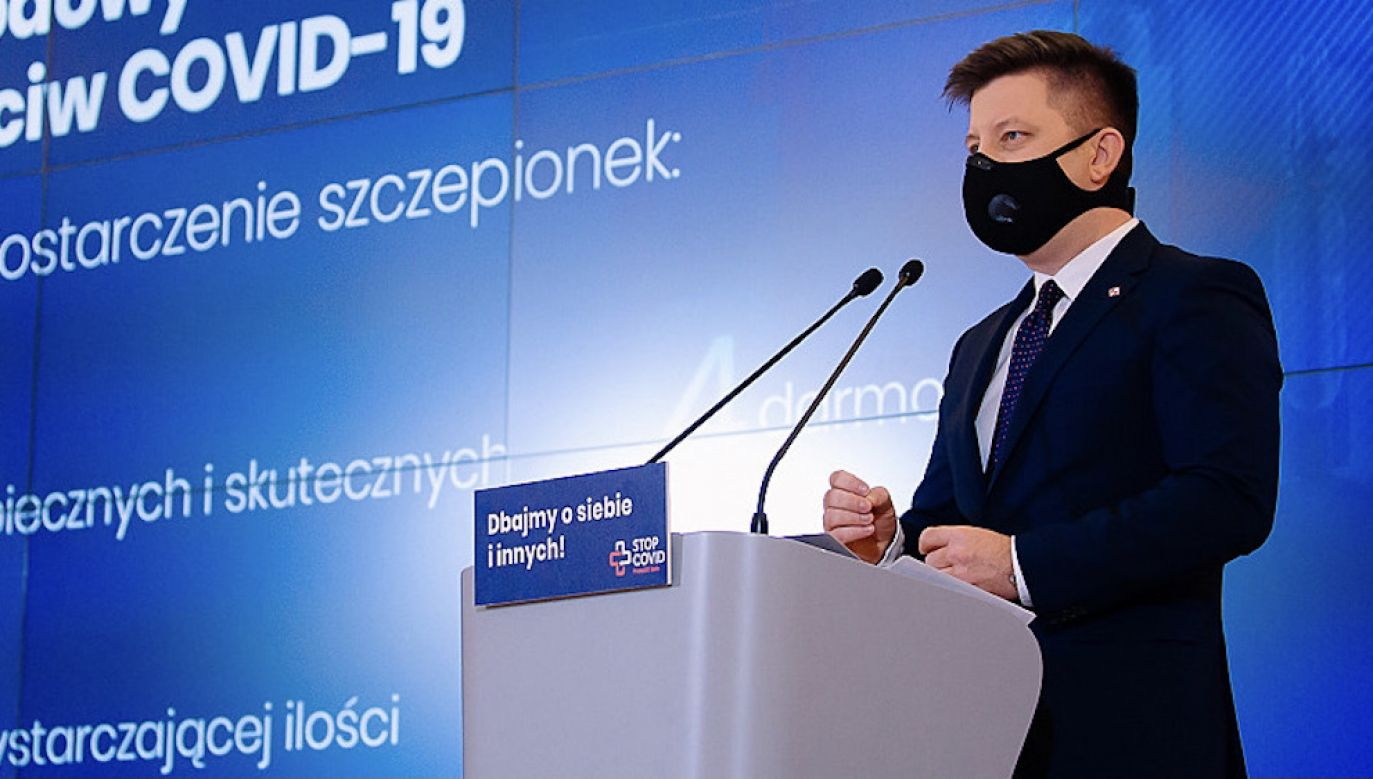 Szef KPRM Michał Dworczyk (fot. Krystian Maj/KPRM)