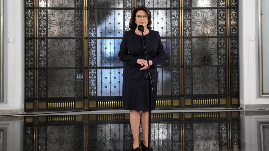 Małgorzata Kidawa-Błońska, była kandydatka PO na prezydenta (fot. PAP/Radek Pietruszka)