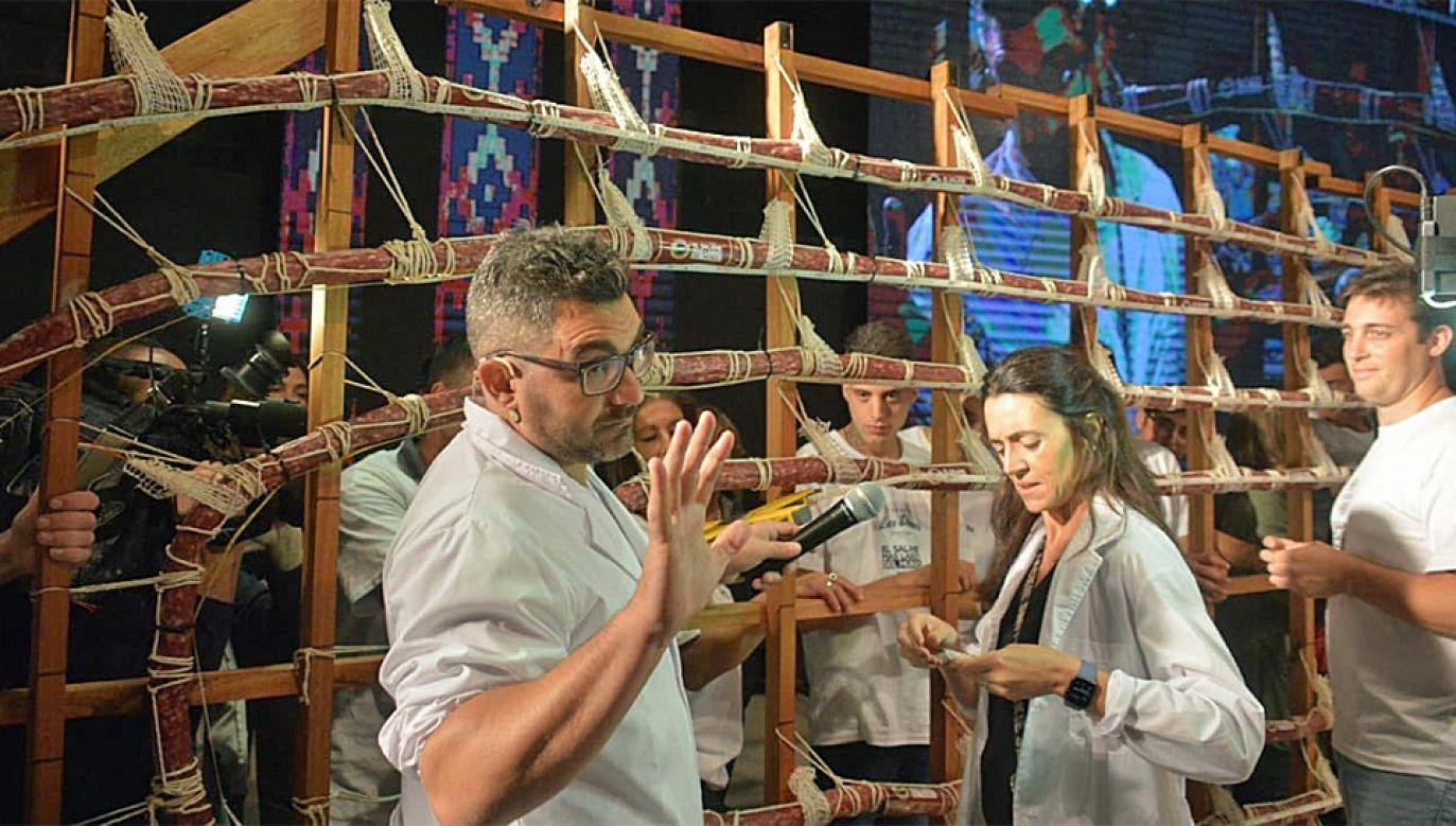 Proces suszenia i wędzenia zajął ponad miesiąc (fot. TT/Gobierno Tandil)