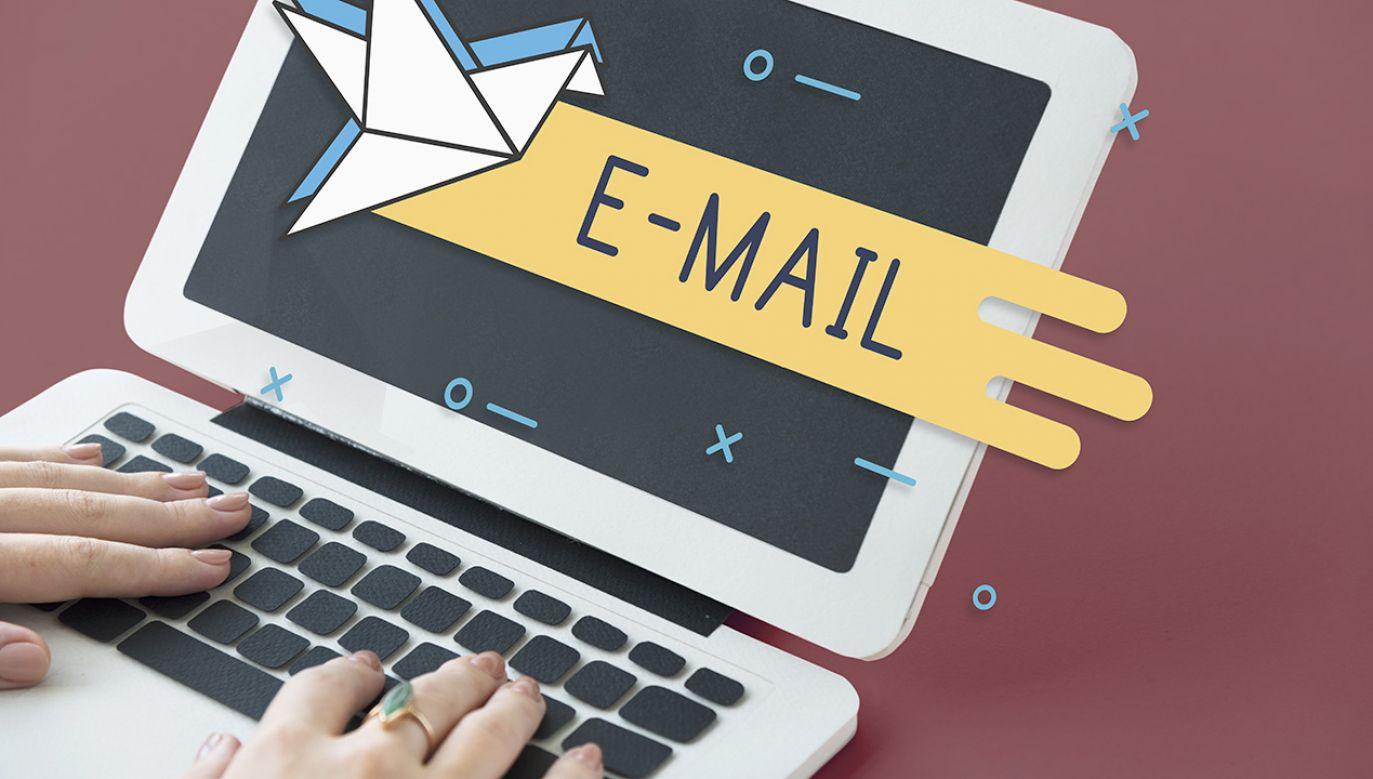 Ministerstwo apeluje o nieotwieranie linków i załączników z e-maili od nieznanych nadawców (fot. Shutterstock/Rawpixel.com)