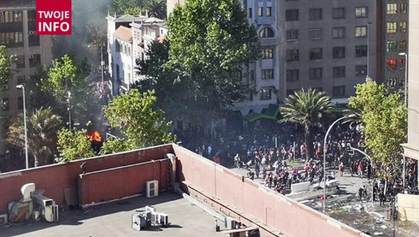 """Przez ostatnich niemal 30 lat Chile było postrzegane jako """"oaza spokoju"""" (fot. Twoje Info/Konrad Połtorzecki)"""